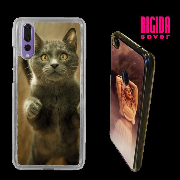 Cover rigida personalizzata con foto gatto per Huawei P 20
