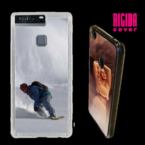 Cover rigida personalizzata per Huawei P9 trasparente