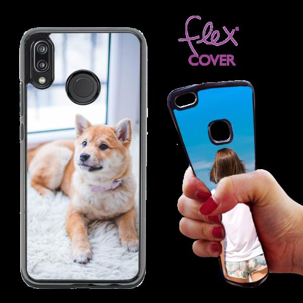 Flex Cover personaizzata per Huawei P20 Lite