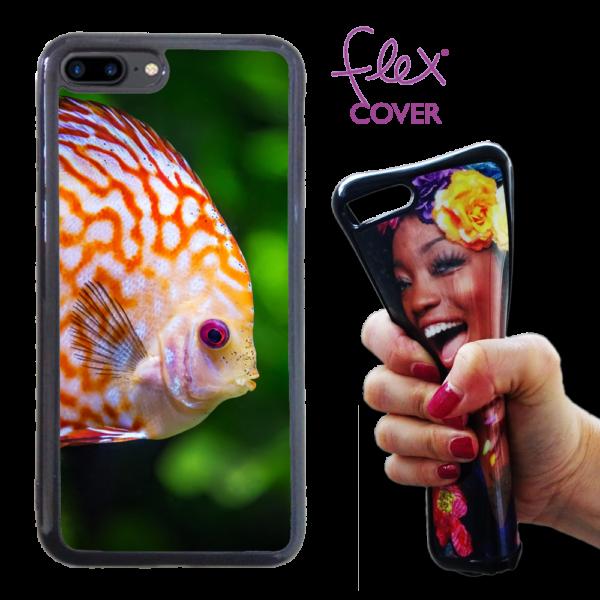 Flex Cover in silicone personalizzata per iPhone 7 Plus ampata da Photoviva
