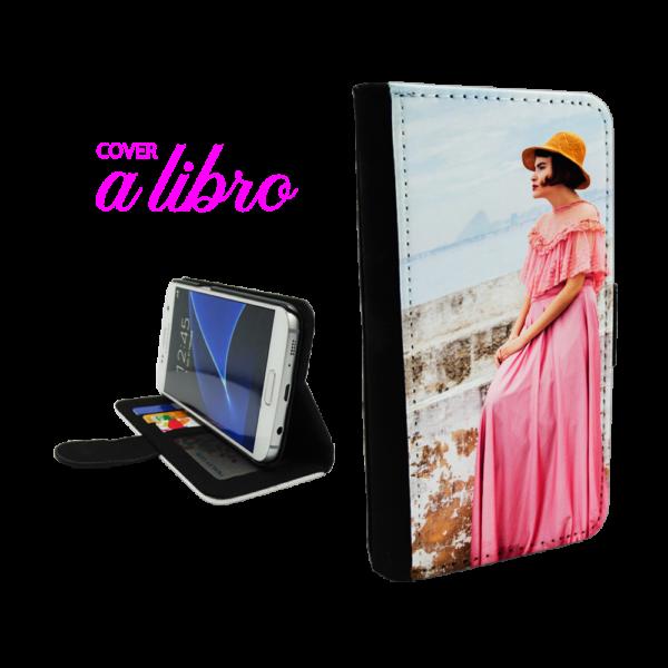 Cover a Libro Galaxy S5 personalizzata
