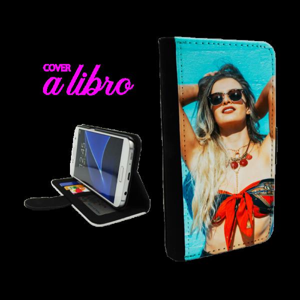 Cover a libro personalizzata per Galaxy S7 Edge
