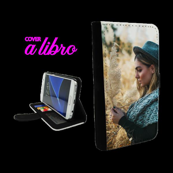 Cover a Libro personalizzata per Galaxy S8