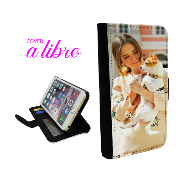 Cover a libro personalizzataper iPhone 7