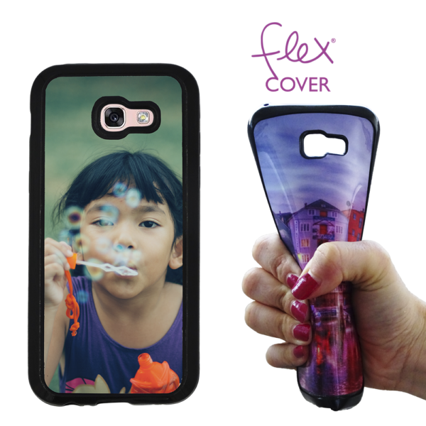 Flex Cover per Galaxy A3 2017 stampata da Photoviva