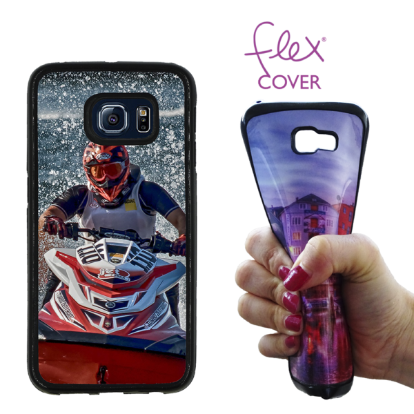 Flex Cover per Galaxy S6 Edge personalizzata