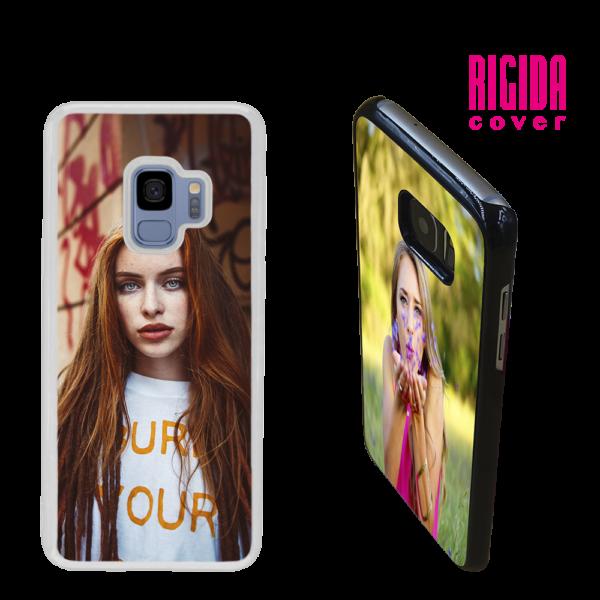 Cover Rigida personalizzata per Galaxy S9 Trasparente