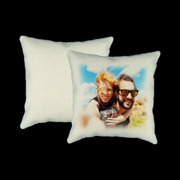 Cuscino quadrato personalizzato effetto yuta