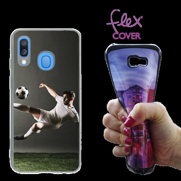 Cover flex in silicone personalizzata per Galaxy A40