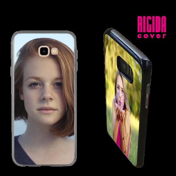 Cover Rigida personalizzata Galaxy J4 Plus Trasparente