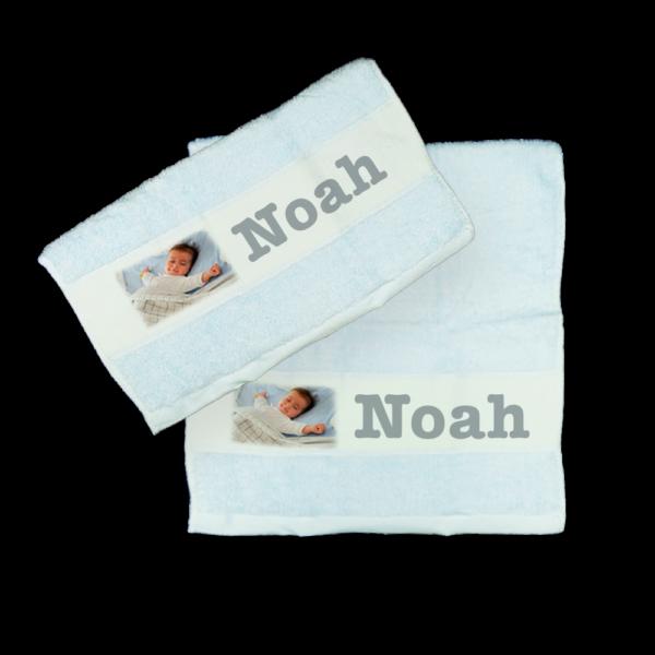 Asciugamano personalizzato per un bimbo