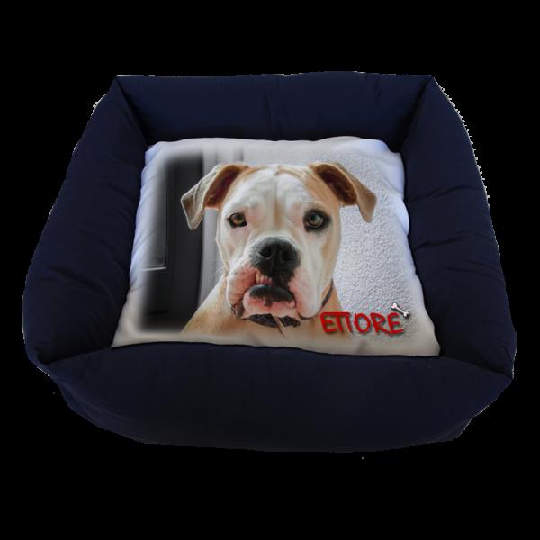cuccia cane personalizzata 60X60 cm