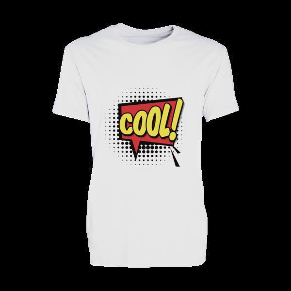 T-shirt bianca personaizzata in bianco poliestere traspirante