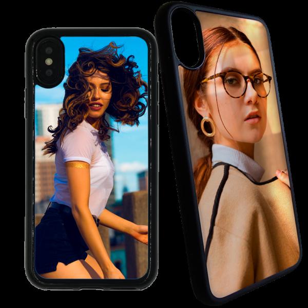 Cover vetro temperato personalizzata per iPhone X e Xs