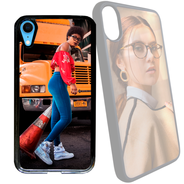 Cover vetro temperato personalizzata per iPhone XR