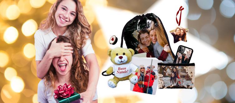 Regali di Natale personalizzati con foto per le amiche