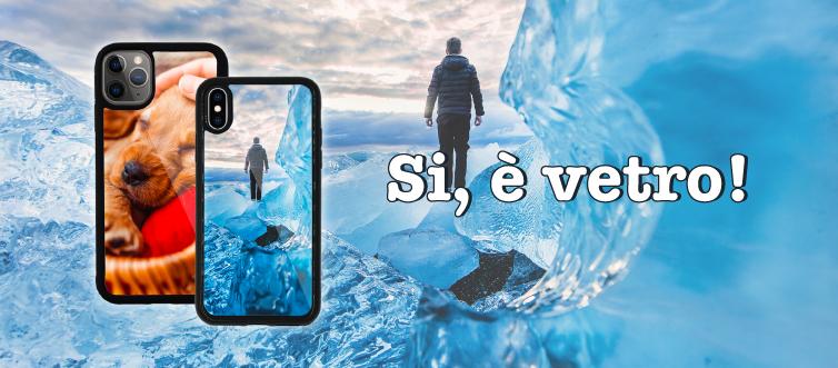 Cover in vetro temperato personalizzate periPhone
