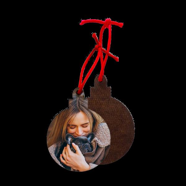 Addobbo Natale pallina personalizzato