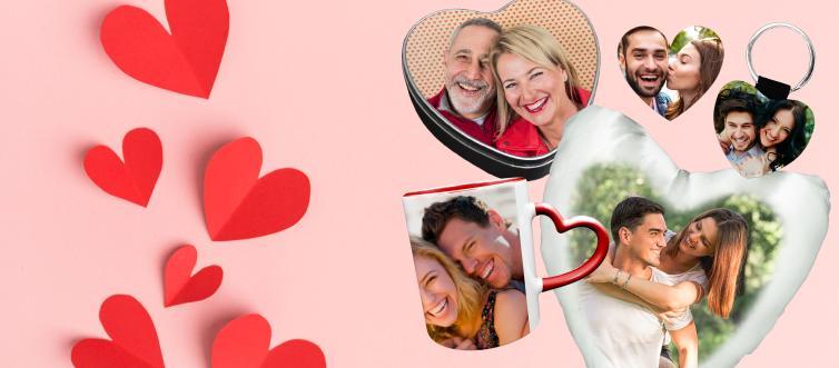 Le idee originali per San Valentino sono regali personalizzati
