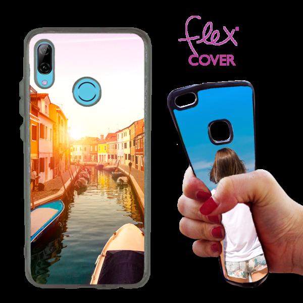 cover flex trasparente personalizzata Huawei PSmartZ