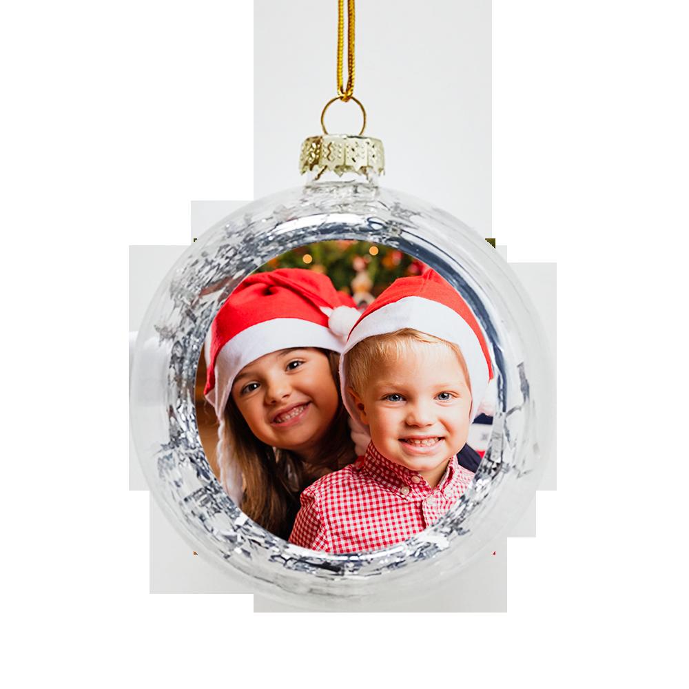 Palline Di Natale.Pallina Di Natale Personalizza Con Le Tue Foto Photoviva