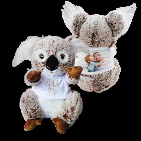 peluche koala personalizzato