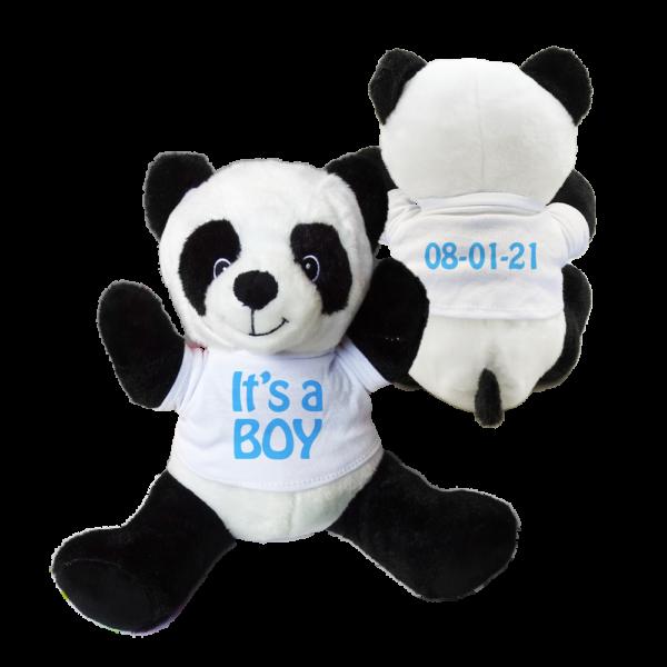 peluche panda personalizzato
