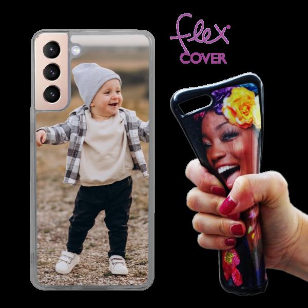 Fle cover personalizzata Samsung Galaxy S21 Plus