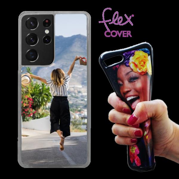Flex cover personalizzata Samsung Galaxy S21 Ultra