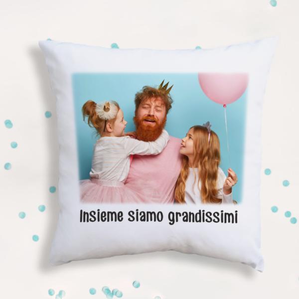 cuscino big personalizzato