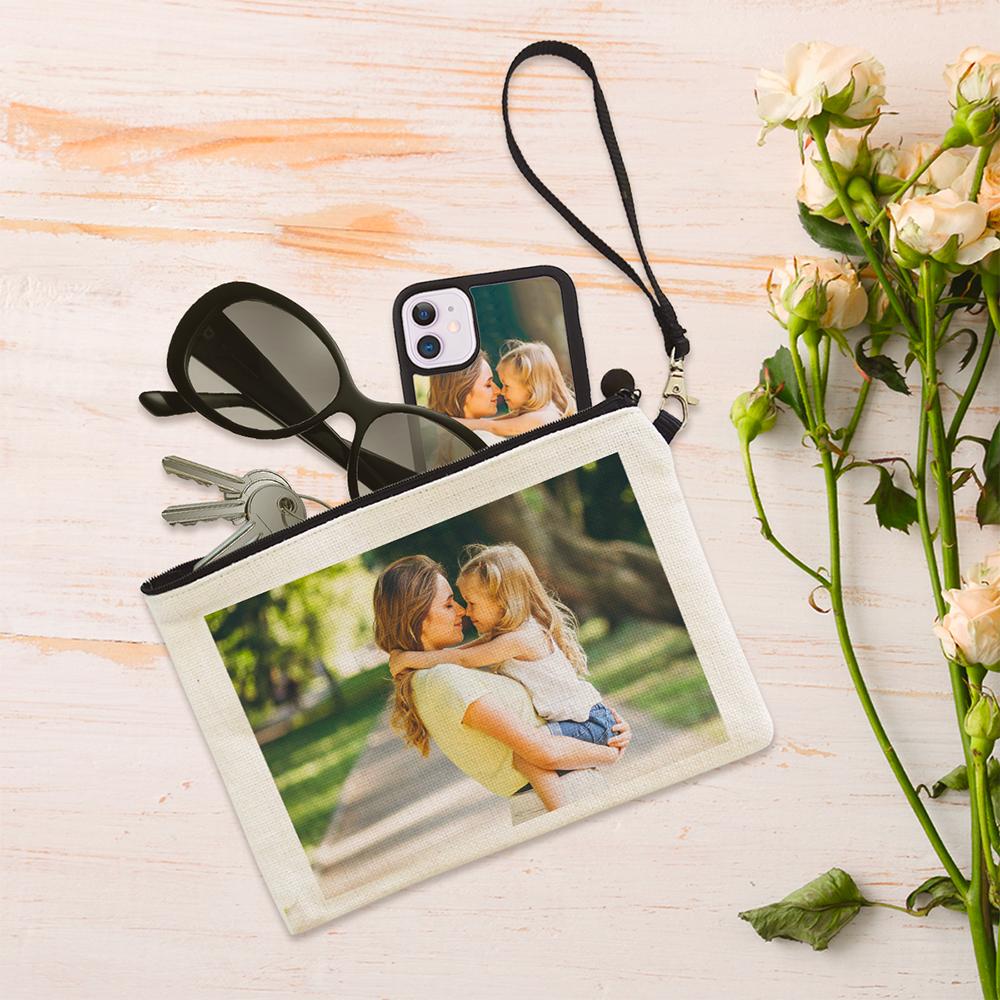 pochette personalizzata con foto