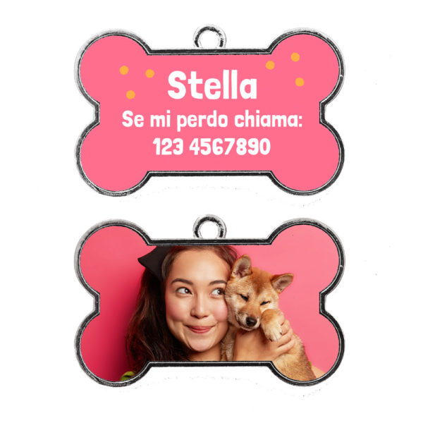 Medaglietta cane personalizzata